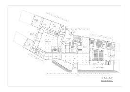 auto use floor plan hebei university library winning proposal damian donze tongji