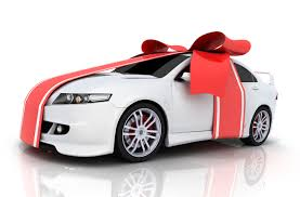new car gift bow buying a car as a christmas gift really