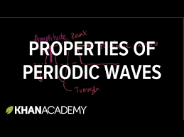 properties of periodic waves video khan academy
