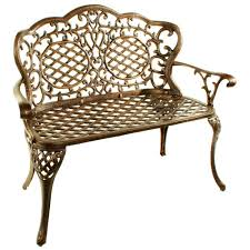 Iron Patio Chairs by Cast Iron Outdoor Benches Patio Chairs The Home Depot