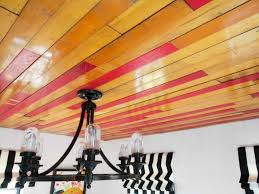 how to cover a ceiling with reclaimed wood floors hgtv
