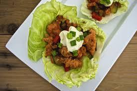 chicken sausage cabbage wraps