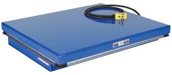 Hydraulic Scissor Lift Table by Vestil Rotary Air Hydraulic Scissor Lift Tables