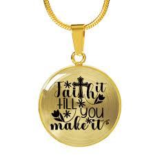 faith gifts faith gift faith it till you make it inspirational gift