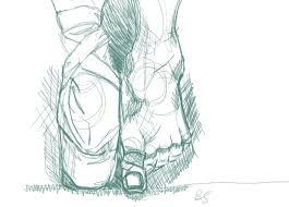 drawn ballerina feet pencil and in color drawn ballerina feet