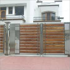 Stylist And Luxury House Front Gate Models