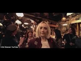 ed sheeran perfect video actress ed sheeran hits pub with saoirse ronan galway girl video youtube