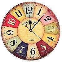 pendules cuisine amazon fr horloge murale colorée cuisine maison