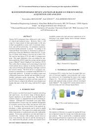 guide matlab bluetooth portable device and matlab based gui for ecg signal