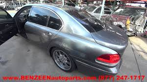 parting out 2003 bmw 760li stock 6490pr tls auto recycling