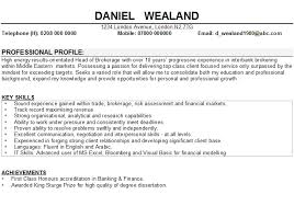 examples of professional profiles on resumes examples of resumes
