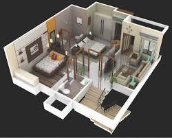 Terrific 3d Duplex House Plans India Images Best Idea Home Floor Plans House 3d