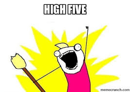High Five Meme - five