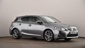 lexus hybrid ct200h price uk used lexus ct 200h 1 8 f sport 5dr cvt auto premium navigation