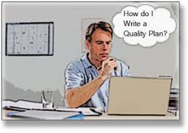 how to write a construction quality control plan