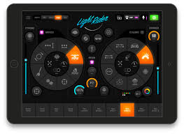 dmx light control software for ipad light rider app for djs wifi dmx ipad androide slesa ue7 dvc4 gzm