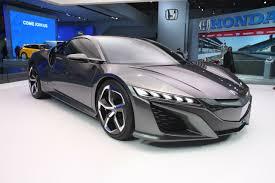 honda supercar concept new honda nsx concept previews interior for the first time