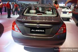 nissan philippines nissan almera sunny rear at the philippines international motor