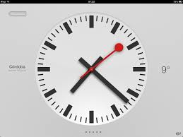 ios 6 clock face a rip off says swiss federal train operator