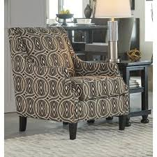ashley furniture bernat accent chair in linen local furniture outlet