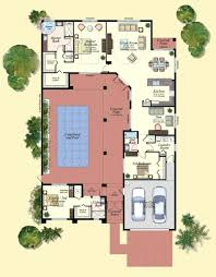 courtyard plans u shaped house design house plans with courtyard me u shaped house