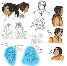 legend of korra doodle palooza by behindtheveil on deviantart