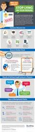 Background Investigator Resume Infographic Stop Lying On Your Resume Sterling Talent Solutions