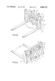 patente us4986721 extendable boom fork lift vehicle google