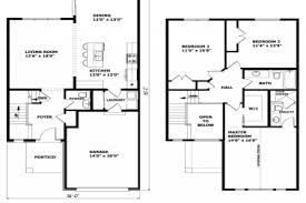 modern 2 story house plans 27 simple 2 story house plans simple two story house 2 story home
