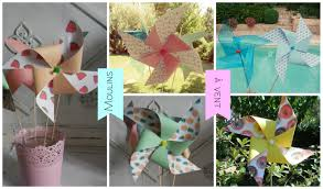 moulin a vent deco moulin à vent en papier how to make pinwheel diy youtube