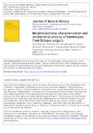 morphofunctional characterization and antibacterial activity of