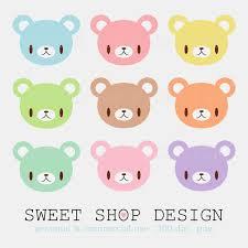 cute bear clip art animal clip art baby shower clip art