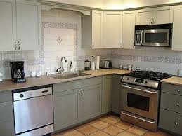Kitchen Grey Cabinets Grey Painted Kitchen Cabinets Traditional Design Paint For