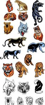 vector tiger and panther tattoos meaning tattoomagz
