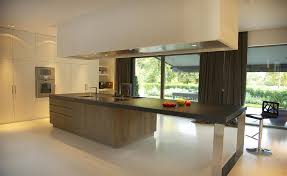 ilot centrale cuisine cuisine ouverte et lot central bois guillaume da silva avec ilot