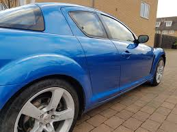 for sale 2004 mazda rx8 231bhp blue recent rebuild great