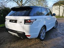 land rover sport white used fuji white land rover range rover sport for sale hertfordshire