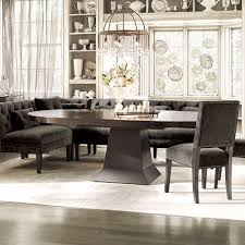 Upholstered Banquettes Contemporary Design Arhaus Dining Table Innovational Ideas Eaton