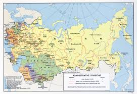map of ussr large scale administrative divisions map of the ussr 1968
