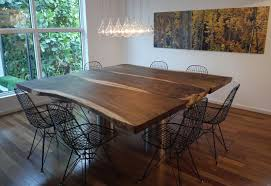 wood and metal dining table sets your dining room with metal dining chairs