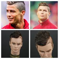 soccer haircut steps cristiano ronaldo inspired haircut tutorial thesalonguy youtube