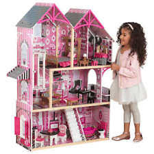 dollhouse with furniture play set kidkraft majestic mansion wood