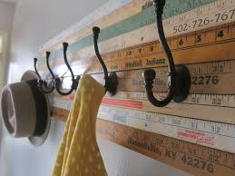 wall mounted oak coat rack sears com wooden mallet hook hcr 2nlo