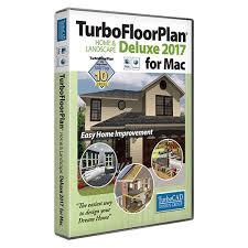 Home Design Studio For Mac V17 5 Turbofloorplan Home U0026 Landscape Deluxe 2017 For Mac Electronic