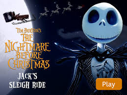 the nightmare before s sleigh ride disney lol