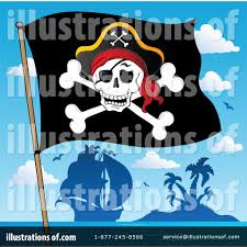 Picture Of A Pirate Flag Pirate Flag Clipart 1104898 Illustration By Visekart