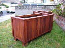 Redwood Planter Boxes by Redwood Planter Pdf Woodworking