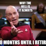 Patrick Stewart Meme Generator - patrick stewart why the hell meme generator imgflip