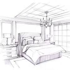 bedroom interior design drawing drawings pinterest wood