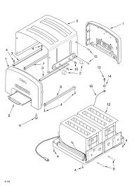 Kitchenaid Toaster Oven Parts List Kitchenaid Toaster Parts Model Kptt890 Sears Partsdirect